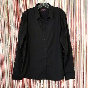 Untuckit Men's Gray Slim Fit Button Down Shirt XL